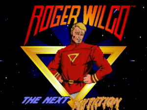 The stupid, resourcefull and not-so-brave Roger Wilco - here to save the day and mop the floor.