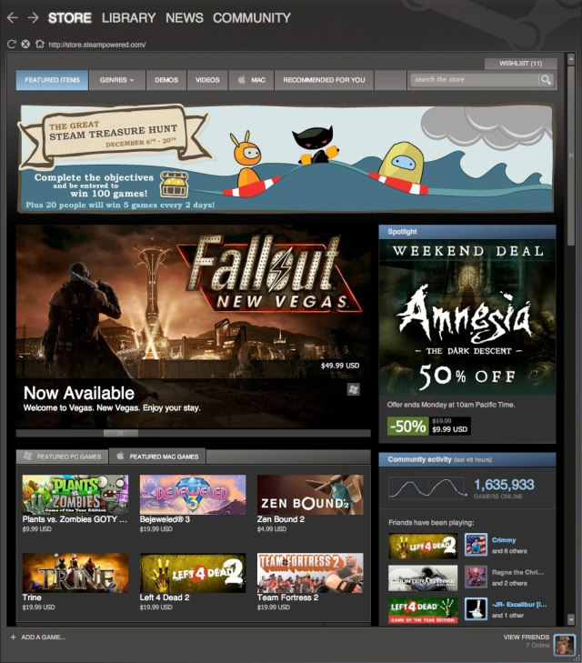 Than again, it's not like Steam - one of the biggest PC gaming library - will leave me wanting.